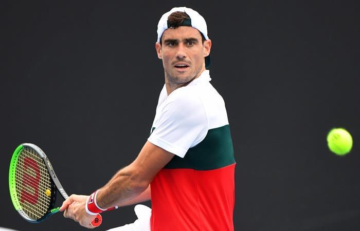 Guido Pella ganó en su debut en el Australian Open. Foto: EFE