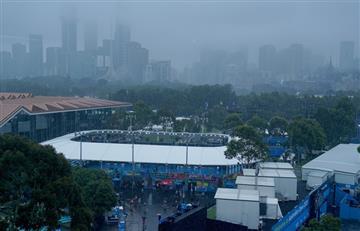 Ni el humo, ni el fuego: Cuatro argentinos afectados por la lluvia en el Australian Open