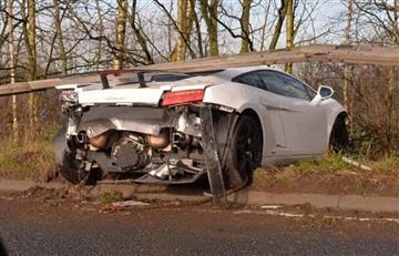 Sergio Romero sufrió un grave accidente con su auto, pero no sufrió lesiones y se entrenó