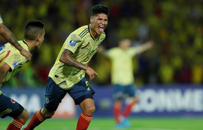 Jorge Carrascal brilló en el Preolímpico con un golazo y dos asistencias. Foto: EFE