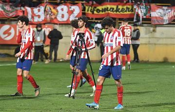 Histórica eliminación de Atlético de Madrid ante Cultural Leonesa en la Copa del Rey