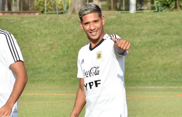 Matías Zaracho es duda para enfrentar a Chile en el Preolímpico. Foto: Twitter