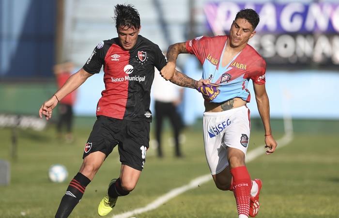 Arsenal y Newell's igualaron 1 a 1 en Sarandí. Foto: Twitter
