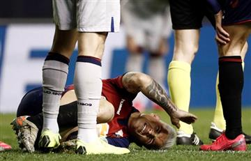 Preocupación en Osasuna por la dura lesión de
