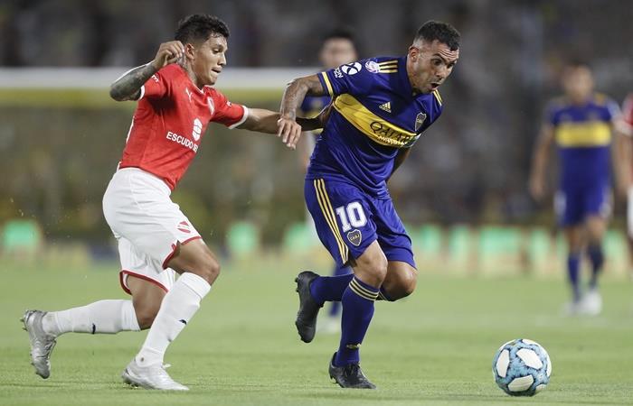 Boca e Independiente igualaron 0 a 0 en La Bombonera. Foto: Twitter