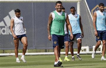 Miguel Ángel Russo definió el equipo de Boca con Carlos Tévez y Mauro Zárate como titulares