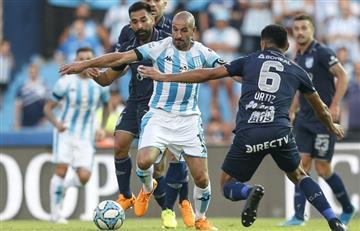 Beccacece debutó con un pobre 1 a 1 entre Racing y Atlético Tucumán