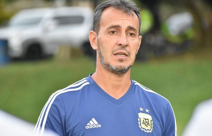 Fernando Batista hará 10 cambios para el duelo entre Argentina y Venezuela. Foto: Twitter
