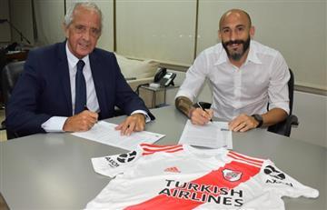 Javier Pinola 2021: el defensor renovó su contrato con River