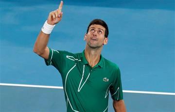Djokovic derrotó a Federer y va por su octavo título en el Australian Open