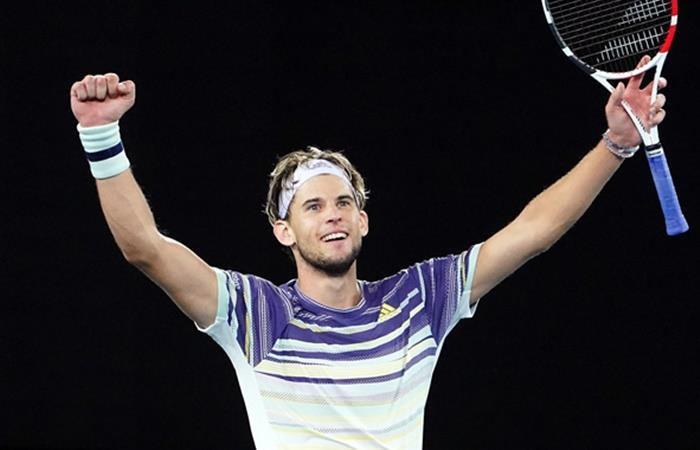 Dominic Thiem jugará la final del Australian Open. Foto: EFE