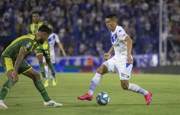 Vélez igualó 1 a 1 con Aldosivi y se aleja de la pelea por la Superliga
