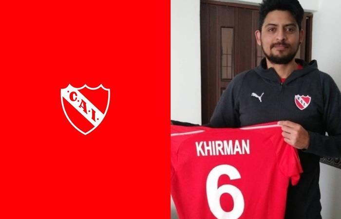 Germán Chávez, jugador de eSports de Independiente. Foto: Twitter