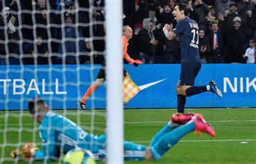 Di María brilló en la goleada del PSG
