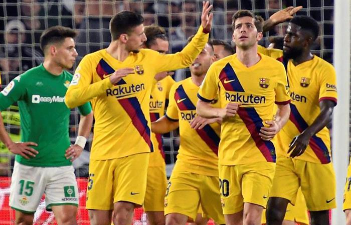 Barcelona venció 3-2 a Real Betis (Foto: EFE)