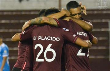 Lanús goleó a la Católica en la Sudamericana