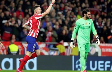 Atlético de Madrid de Simeone venció a Liverpool por la Champions League