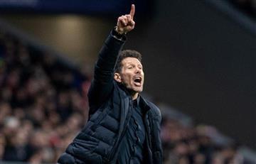 Diego Simeone destacó la victoria del Atlético Madrid frente a Liverpool