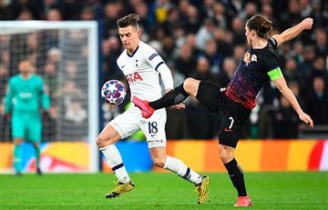 Lo Celso perdió con Tottenham ante Leipzig en la Champions League