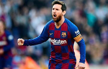 Lionel Messi convirtió un 'póker' para la goleada del Barcelona ante el Eibar