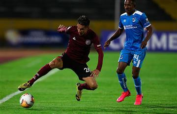 Lanús perdió ante la Universidad Católica, pero avanza en la Copa Sudamericana