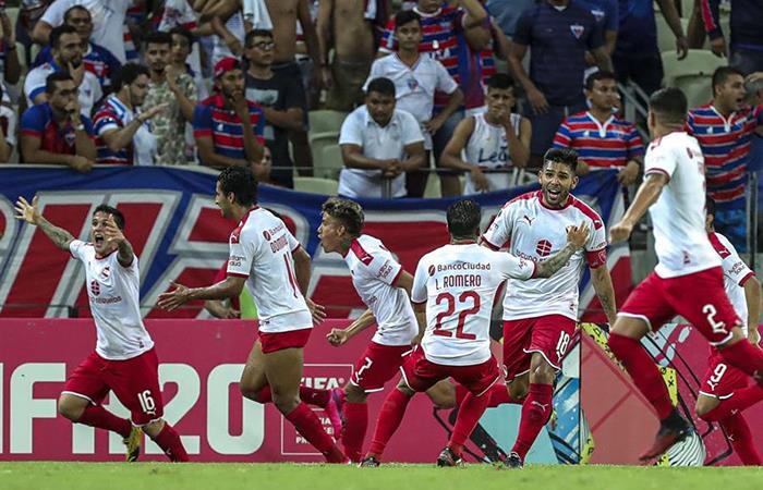 Independiente logró el gol sobre los descuentos. Foto: EFE