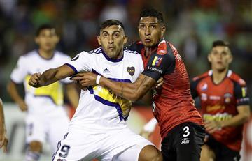 Boca igualó en su visita a Caracas por la Libertadores