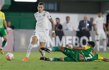 Defensa y Justicia cayó con Santos por la Libertadores