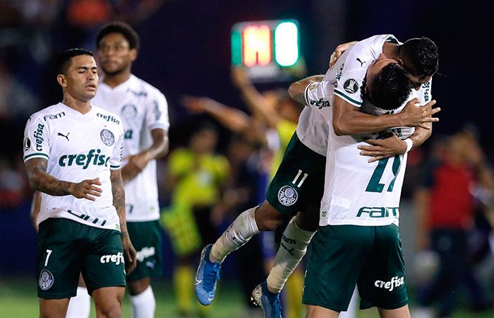 Palmeiras. Foto: EFE