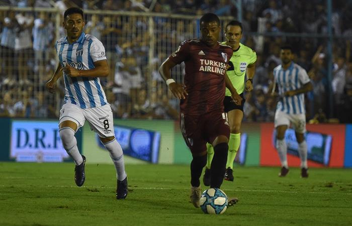River Plate Igual U00f3 1 1 Con Atl U00e9tico Tucum U00e1n Y Dej U00f3 Escapar