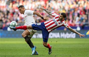 'Atleti' de Simeone empató con Sevilla