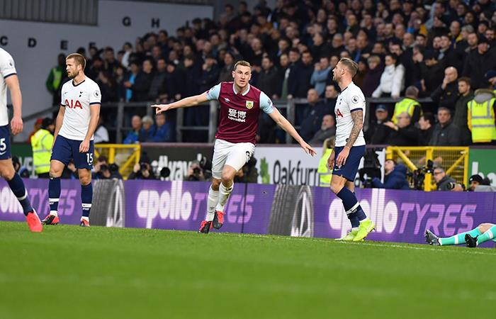 Tottenham apenas empató con Burnley. Foto: EFE