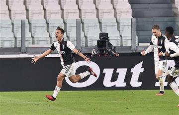 Dybala brilló en el triunfo de la Juventus
