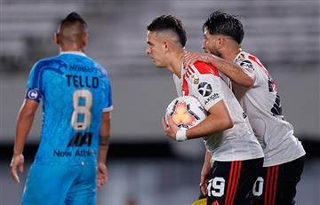 River Plate le metió 8 goles a Binacional