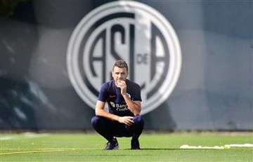 San Lorenzo presentó a Soso como su entrenador