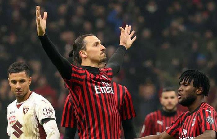 Zlatan Ibrahimovic. Foto: EFE