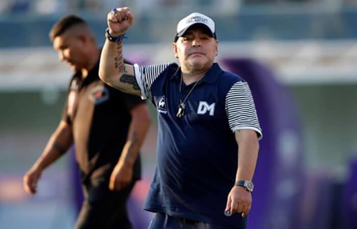 Maradona (Foto: EFE)
