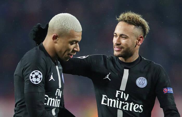 Mbappé y Neymar (Foto: EFE)