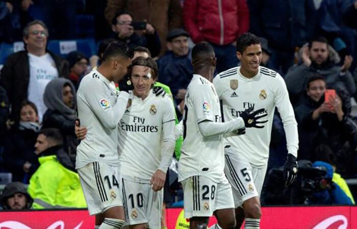 Real Madrid. Foto: EFE