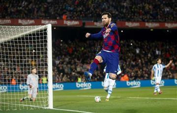 La IFFHS validaría los goles de Messi