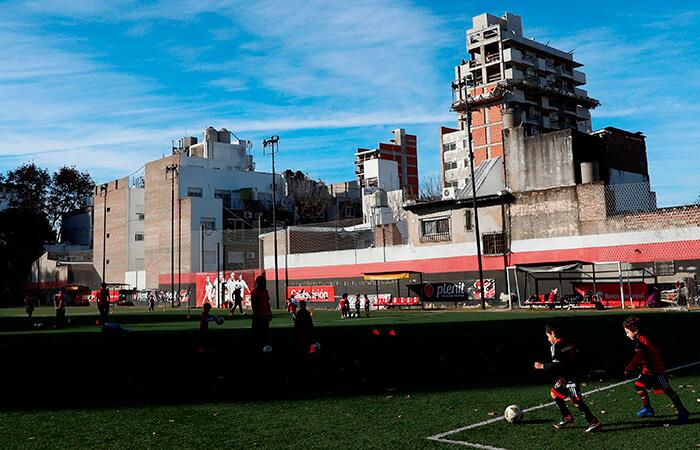 Clubes de barrio. Foto: EFE