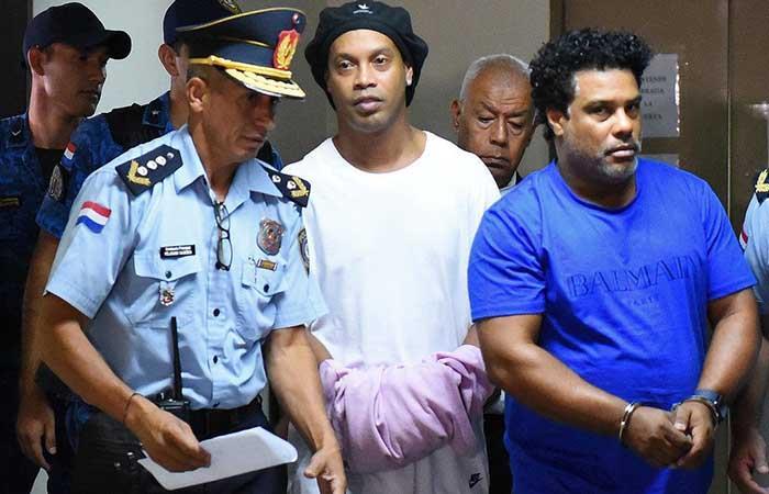 Ronaldinho. Foto: EFE