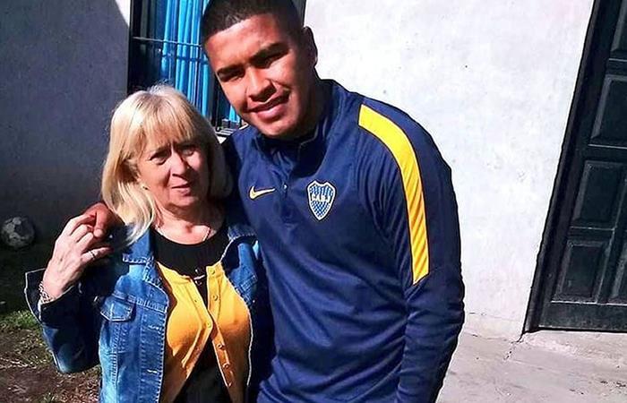 Juvenil de Boca Juniors perdió casa en incendio. Foto: Instagram