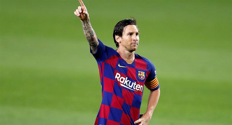 Lionel Messi marcó frente al Leganés el 2-0. Foto: EFE