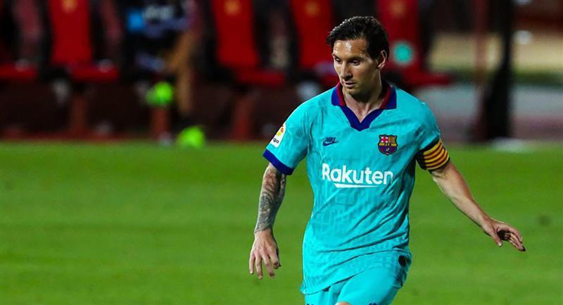 Lionel Messi anotó un gol y dio dos asistencias en el duelo ante Mallorca. Foto: Twitter - FC Barcelona