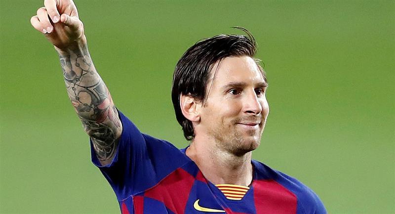 Lionel Messi sigue logrando méritos personales. Foto: EFE