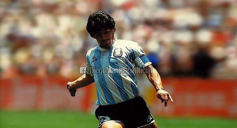 Diego Maradona disputó su primer mundial en España 82. Foto: Instagram - @maradona