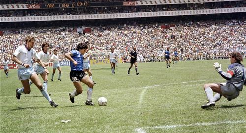 34 años de la histórica actuación de Maradona en México 86'