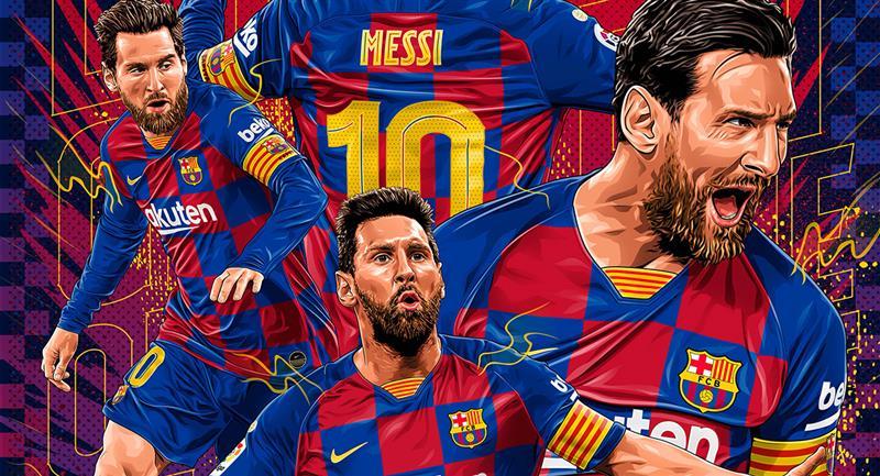 Lionel Messi cumple 33 años y una vida en el Barcelona. Foto: Twitter Club Barcelona
