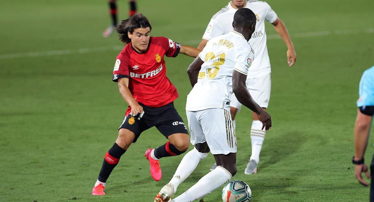 Luka Romero debutó a los 15 años frente al Real Madrid. Foto: EFE